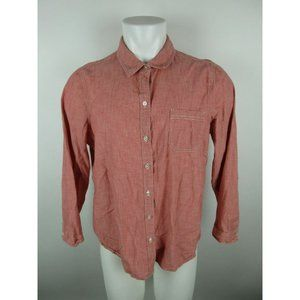 Old Navy Cotton Long Sleeve Solid Shirt